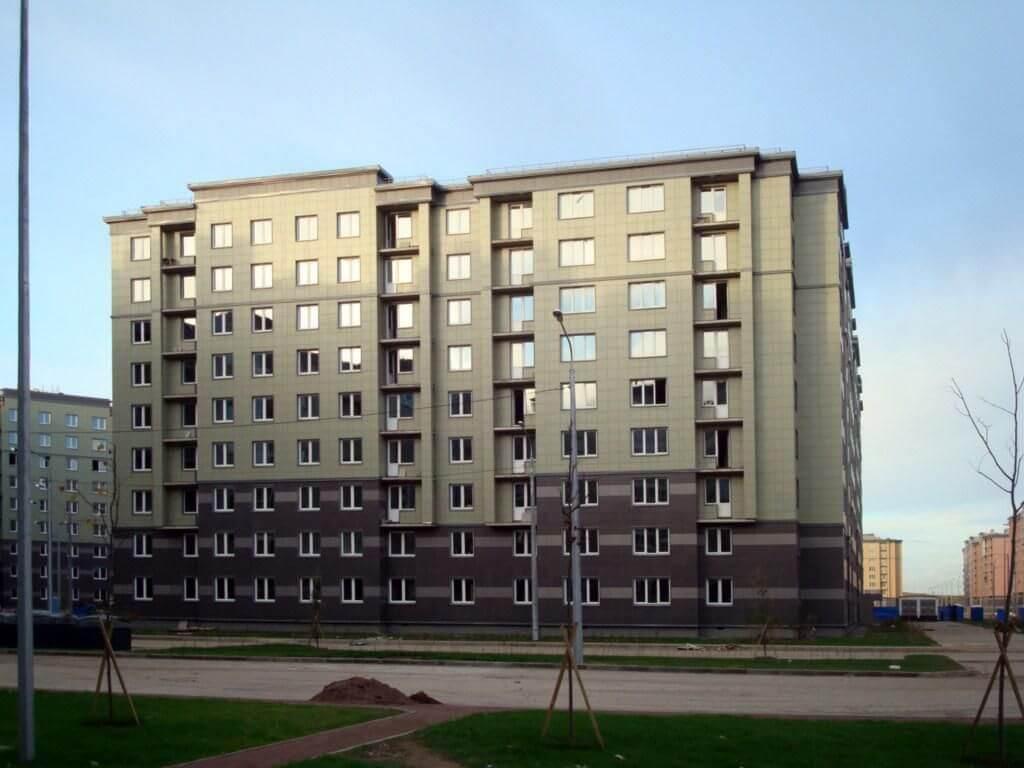 жилой квартал славянка пушкинский район фото первый год саженцы